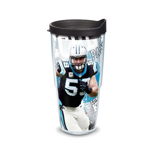 Tervis Carolina Panthers Luke Kuechly 24 oz. Tumbler with Lid