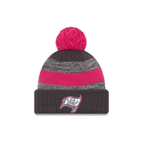 New Era Men's Tampa Bay Buccaneers 2016 Breast Cancer Awareness Knit Cap