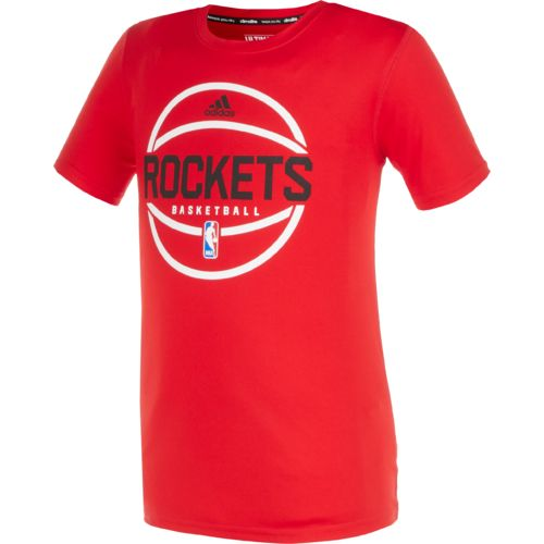 adidas™ Boys' Houston Rockets New Ball T-shirt