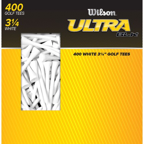 "Wilson™ Ultra BLK™ 3.25"" Golf Tees 400-Pack"
