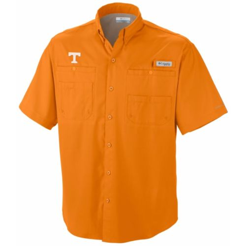 Columbia Sportswear Men's University of Tennessee Tamiami Short Sleeve Shirt - view number 1