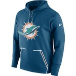 Nike Men's Miami Dolphins Vapor Speed Fleece Hoodie - view number 1