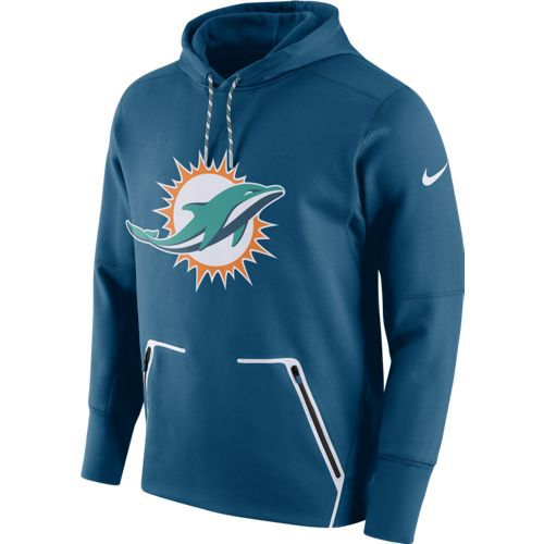 Nike Men's Miami Dolphins Vapor Speed Fleece Hoodie