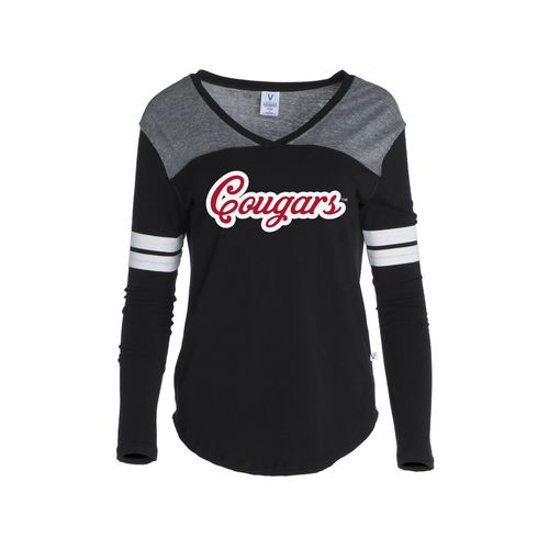 Venley Women's University of Houston Coogs Long Sleeve Hockey Jersey