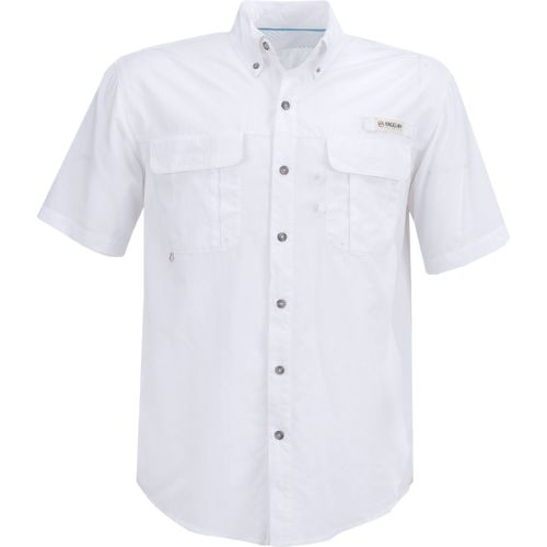 Magellan Outdoors™ Men's Laguna Madre Solid Short Sleeve Fishing Shirt