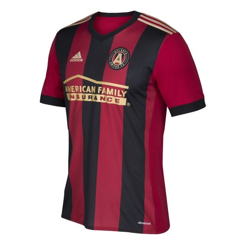 Display product reviews for adidas Men's Atlanta United FC Primary Logo Replica Jersey
