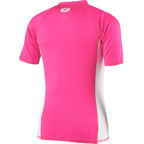 O'Rageous Girls' Raglan Short Sleeve Rash Guard - view number 2