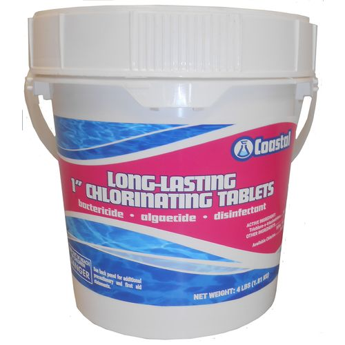 Coastal Long-Lasting 1' 4 lb. Chlorinating Tablets