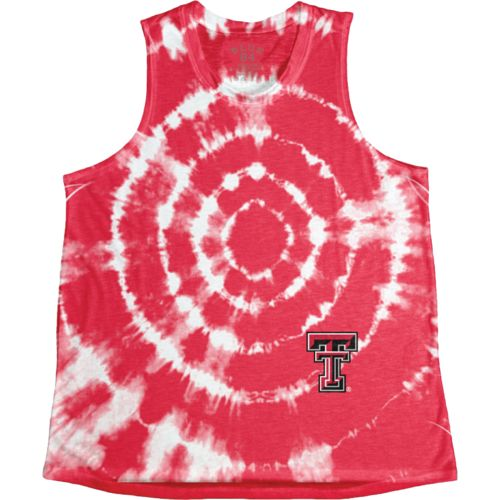 Blue 84 Women's Texas Tech University Retro Liquid Muscle Tank Top
