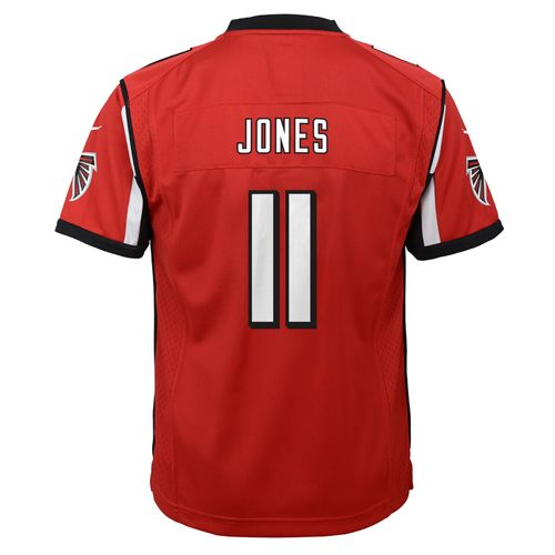 Nike Youth Atlanta Falcons #11 Julio Jones 2016 Super Bowl LI Game Jersey