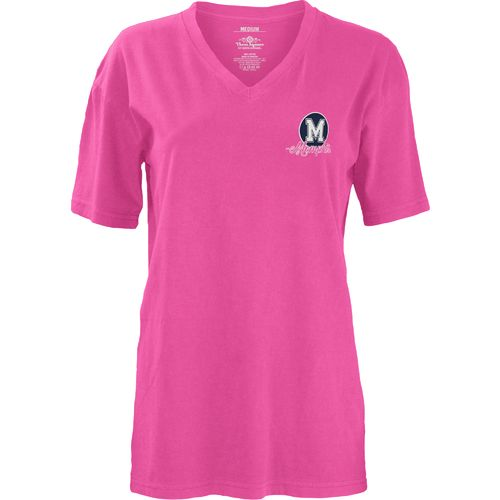 Three Squared Juniors' University of Memphis Baylee V-neck T-shirt - view number 2