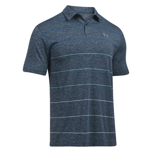 Under Armour Men's CoolSwitch Pivot Stripe Golf Shirt