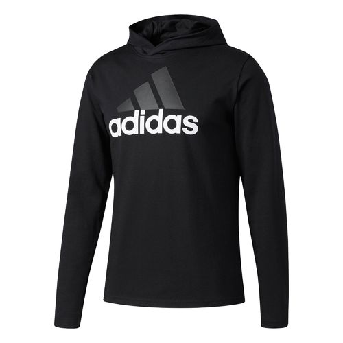 adidas Men's Badge of Sport Long Sleeve Hoodie