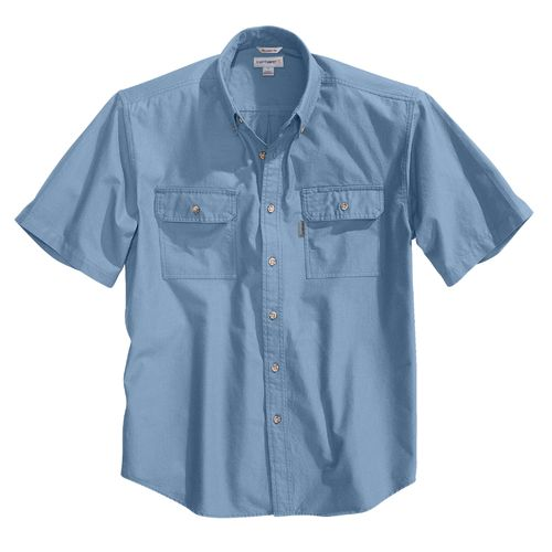 Carhartt Men's Short Sleeve Chambray Shirt