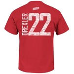 Majestic Men's Houston Rockets Clyde Drexler 22 HWC Name and Number T-shirt - view number 1