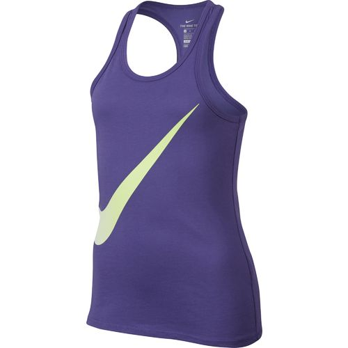 Nike Girls' Dry Exploded Swoosh Training Tank Top