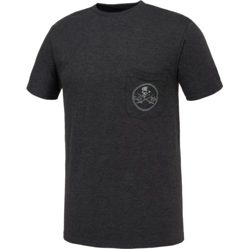 Salt Life Men's Skull and Poles Short Sleeve T-shirt - view number 3