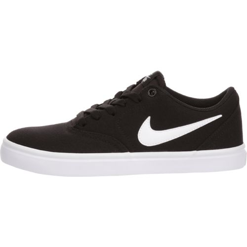 Nike Women's Check Solarsoft Canvas Skateboarding Shoes - view number 1