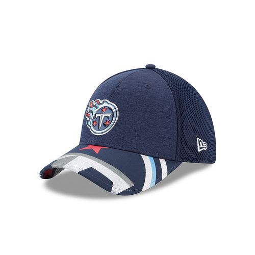 New Era Men's Tennessee Titans 39THIRTY NFL17 On Stage Cap - view number 1