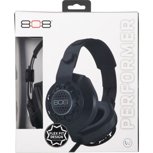 808 Audio Performer Over-the-Ear DJ-Style Headphones - view number 1