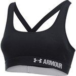 Under Armour Women's Mid Crossback Sports Bra - view number 3
