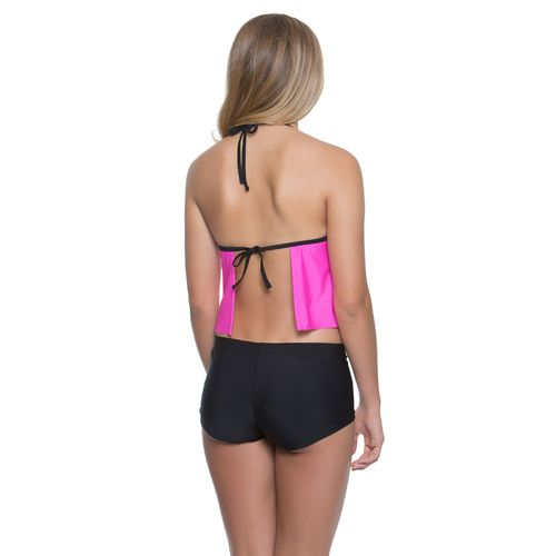 O'Rageous Juniors' Colorblock Molded Tankini Swim Top - view number 2
