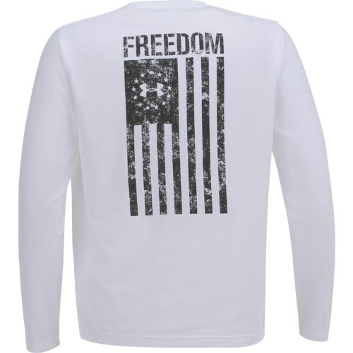 Display product reviews for Under Armour Men's Freedom Flag Long Sleeve T-shirt