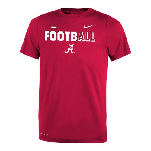 Nike™ Boys' University of Alabama Legend Football T-shirt