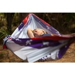 Twisted Root Design Twisted Print Arkansas Wood Flag Hammock - view number 4