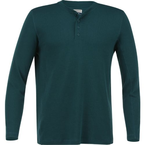 Display product reviews for Magellan Outdoors Men's Base Camp Thermal Long Sleeve Henley Shirt