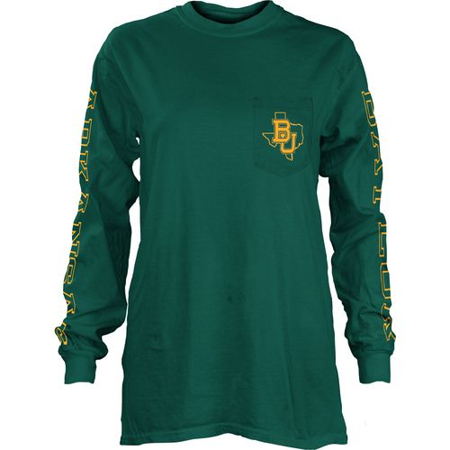 Three Squared Juniors' Baylor University Mystic Long Sleeve T-shirt