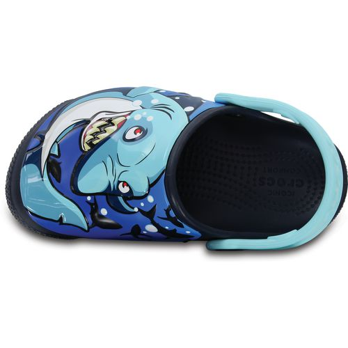 Crocs Boys' Fun Lab Shark Lights Clogs - view number 3