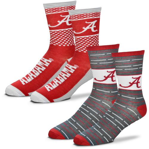 For Bare Feet Men's University of Alabama Father's Day Socks