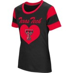 Colosseum Athletics Girls' Texas Tech University Bronze Medal Short Sleeve T-shirt - view number 1