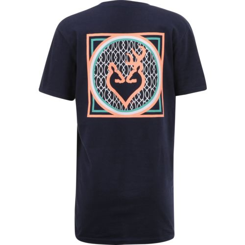 Browning Women's Buckheart Monogram Classic T-shirt - view number 1