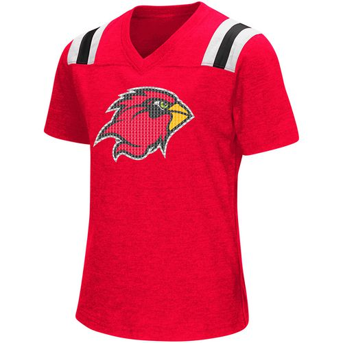 Colosseum Athletics Girls' Lamar University Rugby Short Sleeve T-shirt - view number 1