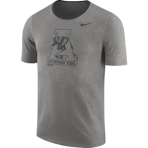 Nike Men's University of Alabama Heavyweight Elevated Essentials Short Sleeve T-shirt