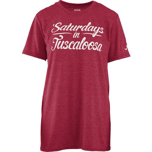 Three Squared Juniors' University of Alabama Saturday T-shirt