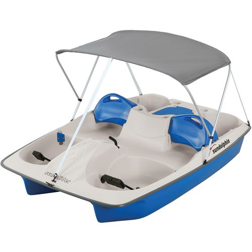 Sun Dolphin Sun Slider 96 in Pedal Boat with Canopy