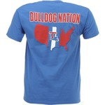 New World Graphics Men's Louisiana Tech University Stripe Nation T-shirt - view number 1