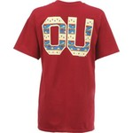 New World Graphics Women's University of Oklahoma Logo Aztec T-shirt - view number 1