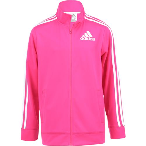 adidas Girls' Tricot Event Athletic Jacket - view number 1
