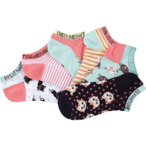 BCG Women's Cats Fashion Socks 6 Pack - view number 3