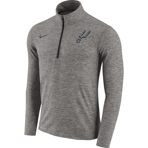 Nike Men's San Antonio Spurs Element Dry 1/2 Zip Pullover
