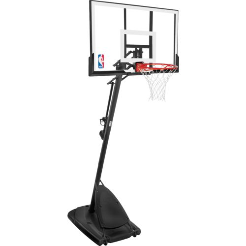 Display product reviews for Spalding Angled 54 in Portable Acrylic Basketball Hoop