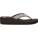O'Rageous Women's Bling Wedge Flip-Flops - view number 1