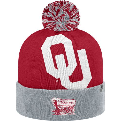 Top of the World Men's University of Oklahoma Blaster 2-Tone Knit Cap