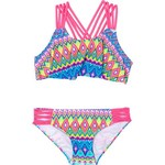 O'Rageous Girls' Deco Line 2-Piece Bikini - view number 1