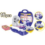 World Tech Toys Pet Grooming 16-Piece Suitcase Play Set - view number 5