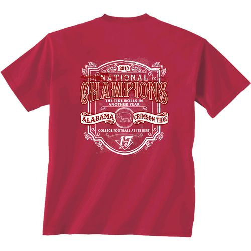 New World Graphics Women's University of Alabama 2017 CFP National Champs Tradition T-Shirt